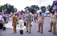 Wali Kota Jambi Dr. H. Syarif Fasha, ME Serahkan Bantuan Bibit Cabe kepada Kelompok Tani dalam Kota Jambi